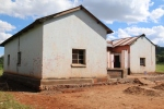 This is the former farmhouse and rectory which the local community are helping to restore so that it can become a clinic