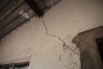 This is just one of the many cracks on the 2003 Rectory